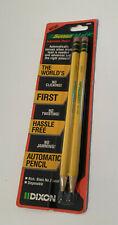 Vintage DIXON Sense Matic Automatic Pencil Set of 2 No. 2 Black Lead NEW