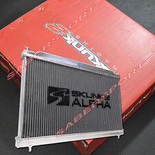 Skunk2 Alpha Series Dual Core Aluminum Radiator for 2006-2011 Honda Civic Si
