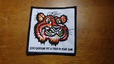 ESSO GASOLINE PUT A TIGER IN YOUR TANK PATCH ESSO TIGER BX R #5