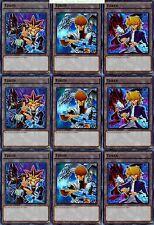 3 X Yami + 3 X Kaiba + 3X  Joey 9_Cards Ultra Token Set LDK2 YuGiOh