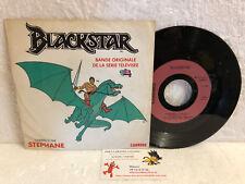 45T BO série TV Blackstar Stephane Vinyle Filmation TF1 Carrere Saban Levy PRX