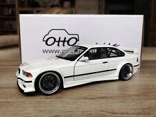 BMW M3 E36 GTR weiß white BBS Tuning Umbau Bastler UT 1:18 OVP