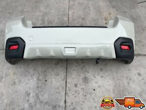 2013 2014 2015 SUBARU XV CROSSTREK REAR BUMPER COVER WITH LIGHTS OEM 13-15