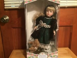 VICTORIAN COLLECTION GENUINE PORCELAIN DOLL