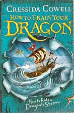 HOW TO RIDE DRAGON'S STORM TRAIN YOUR DRAGON 7 Cressida Cowell New! paperback