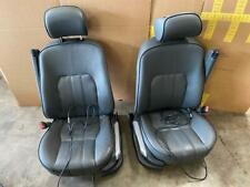 Range Rover HSE 03-05 Black W/ Black Piping Front Seats Driver Passenger W/ TV