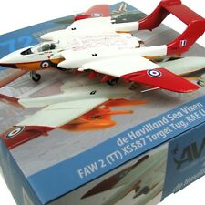 AV7253002 1/72 DH SEA VIXEN TARGET TUG XS587 RAE LLANBEDR 1984 WITH STAND