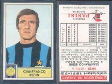 FIGURINA CALCIATORI PANINI 1971/72-INTER,BEDIN-NUOVA,PERFETTA,SUPER!!!