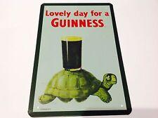Guinness birra irlandese in metallo Poster Bar Pub Taverna Man Grotta PIC Sign Tin Placca