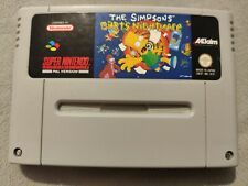 The Simpsons Bart's Nightmare - SNES Super Nintendo - PAL - Cartridge Only