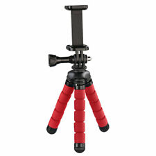 HAMA FLEX MINI-TRIPOD FOR SMARTPHONE AND GO PRO, 14 CM, RED 4611