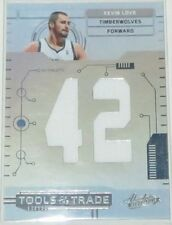 2010/11 Kevin Love Panini Absolute Tools of the Trade Jersey Card #24 Ser #59/99