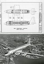 Canadair North star manual HISTORIC archive RARE period details 1950's DC-4