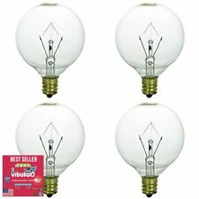 4 Pack Authentic Scentsy Candle Warmer light Bulbs KE-25 Watts Scented Candles