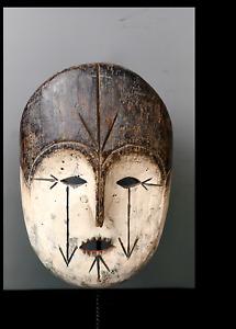 Old Tribal Fang Mask       ---  Gabon BN 54