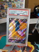 2020 Pokemon SWSH Champion's Path ETB Promo 050 FA Charizard V PSA 10 GEM MINT