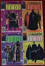 Star Wars: Return of The Jedi (1983) #1-4 - Newsstand Variants - Marvel Set