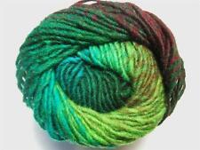 Noro Kureyon Green Lime Burgandy Wool Yarn Per Skein 332 Lot F