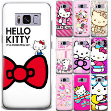 Hello Kitty Ribbon Floral Pattern Phone Case Cover For Samsung Galaxy Series