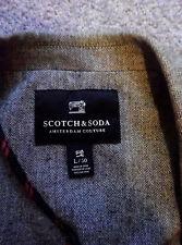 SCOTCH & SODA DUTCH MENSWEAR LABEL HERRINGBONE DESIGN FORMAL BLAZER JACKET