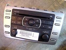 2010 MAZDA 6 CD PLAYER IN DASH 6 DISC CHANGER & RADIO GENUINE GS1E669RXC