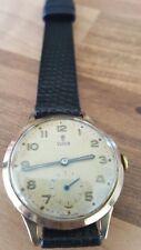 1950s 9ct Orologio d'oro Rolex Tudor J.G. Tomlinson British Rail regione nord orientale