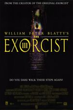EXORCIST III 1990 George C. Scott Brad Dourif Nicol Williamson US 1-SHEET POSTER