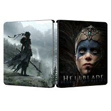 Hellblade: Senua's Sacrifice - Steelbook - Custom - ohne Spiel - NEU in Folie