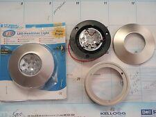 BOAT CABIN COURTESY HEADLINER LIGHTS 2 PACK 12V 40-165207 SUPER BRIGHT 12 LEDS