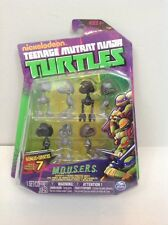 Teenage Mutant ninja Turtles tmnt mousers M.O.U.S.E.R.S. action figures new 2013