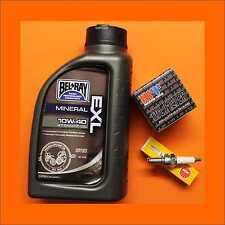 Wartungspaket f. Kreidler Supermoto Enduro Street 125 Ölfilter Öl + Zündkerze