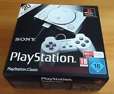Sony PlayStation Classic mini Konsole - 2 Controller und 20 Spiele NEU