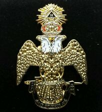 Freemason 33rd Degree Lapel Pin