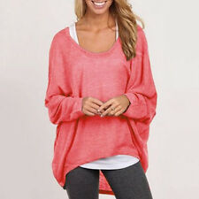 Damen Pulli Pullover Sweater Strickjacke Strickpullover Sweats Bluse Jumper Tops