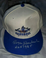 Roger Staubach autographed baseball hat from the Ted Williams Card Company
