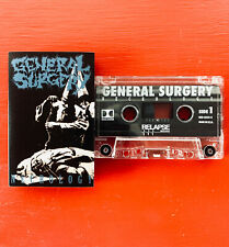 GENERAL SURGERY on Relapse —NECROLOGY— death heavy metal cassette tape
