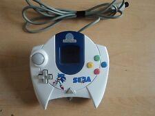 Custom Official Sega Dreamcast Control Pad - White/Blue DC Sega Controller