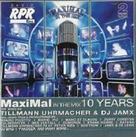 MAXIMAL IN THE MIX 10 YEARS = Katana/Uhrmacher/Nostrum/Cosmic..=2CD= HARD TRANCE