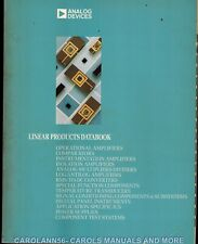 ANALOG DEVICES Data Book 1988 Linear Products
