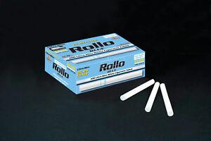 NEW 25mm 500 ROLLO BLUE LIGHTS FILTER ULTRA SLIM Tobbacco Cigarrette tubes
