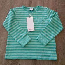 Gestreifte Größe 92 Langarm Mädchen-T-Shirts & -Tops