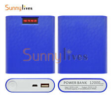 12000mAh 4X18650 USB Battery Charger Box DIY Power Bank Case For iPhone Samsung