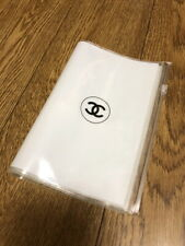 Chanel Waterproof Clear Book Cover / Zip Organizer Pocket x 1pcs