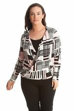 Geometric Classic Tops & Shirts Plus Size for Women