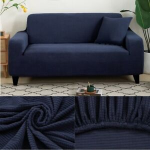 1 2 3 4 Seaters L Shape Corner Thick Sofa Protector Jacquard Solid Sofa Covers