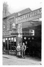 pt3356 - Kingsway Garage , Dewsbury , Yorkshire - photograph 6x4