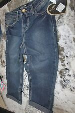 XOXO  STETCH  COPPED JEANS    GIRLS   SIZE 8