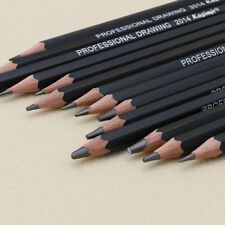 14Pcs Sketch Art Drawing  Graphite Pencil 12B 10B 8B 7B 6B 5B 4B 3B 2B 1B HB 2H