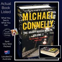 Michael Connelly The Harry Bosch Novels Volume 2 Three Titles One Book HB USA VG