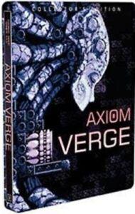 Axiom Verge Collectors Edition STEELBOOK ONLY Thomas Games Indiebox NO GAME